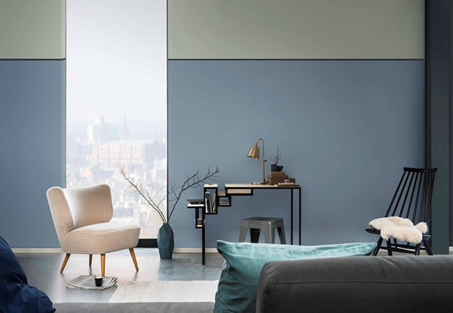Colour your home in denim drift – 2017 colour of the year